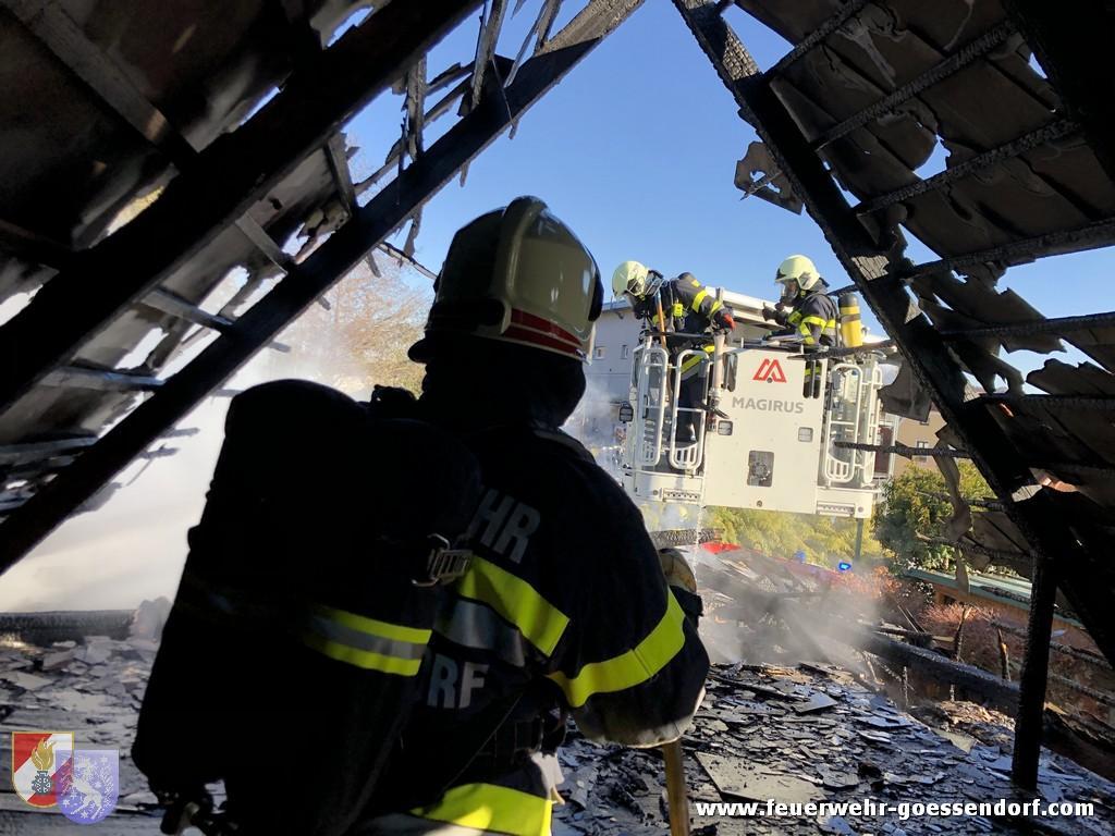 Wirtschaftsgebäudebrand