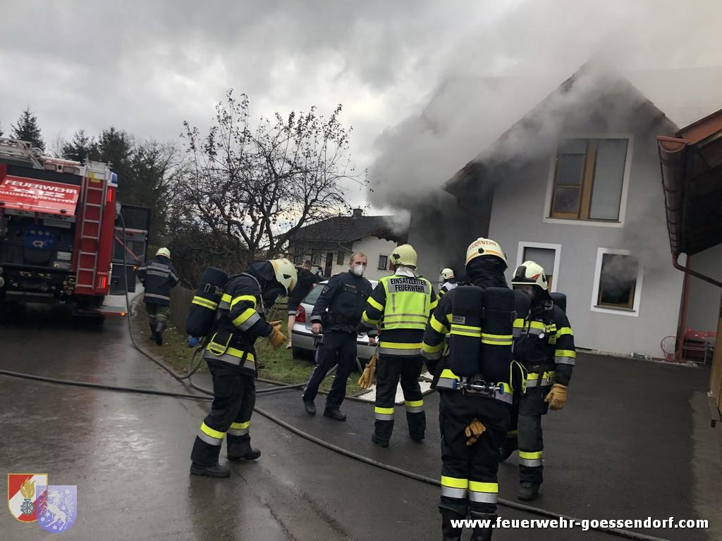 Keller-, Garagen-, Carportbrand