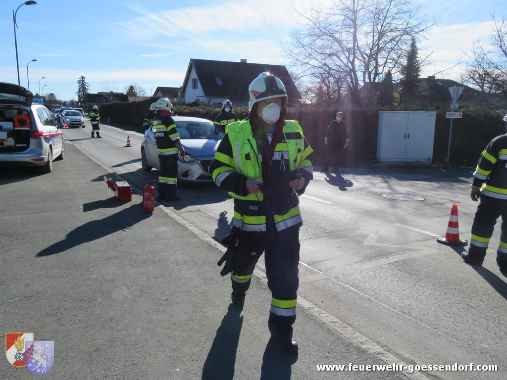 Verkehrsunfall mit verletzter(n) Person(en)